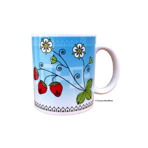 11 oz. Strawberry Mug