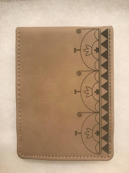 Haudenosaunee Skydome Leatherette Notebook