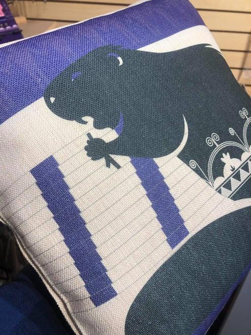 Tuscarora Beaver Decorative Throw Pillow