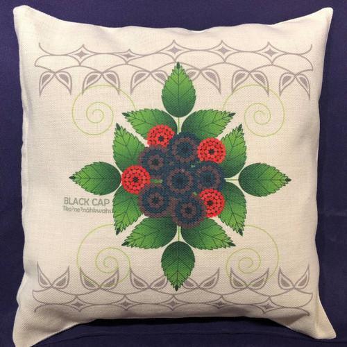 Black Cap Decorative Throw Pillow