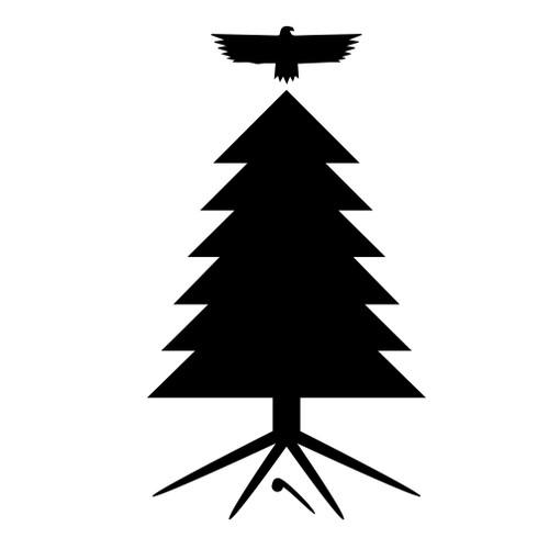"6"" Vinyl Tree of Peace Decal"