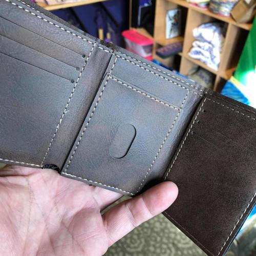 WS Men's Trifold Rustic Lacrosse Wallet