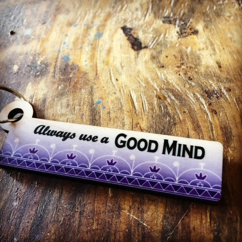Good Mind Key Chain with Skydome Lanyard