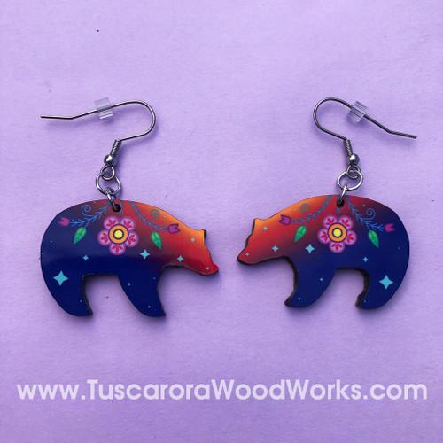Celestial Bear Earrings