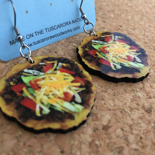 NDN Taco Earrings