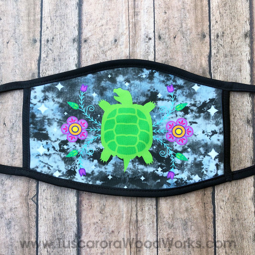 Large Turtle Face Mask
