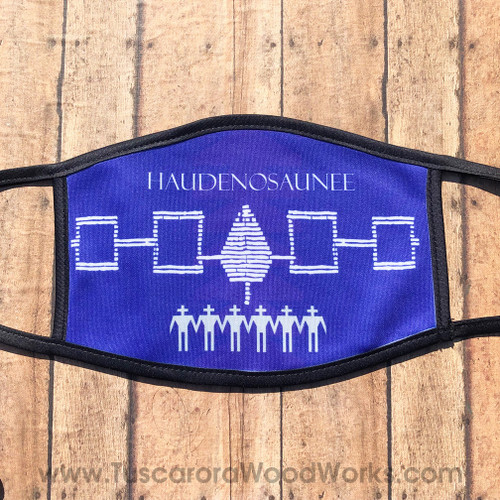 Large Haudenosaunee Face Mask