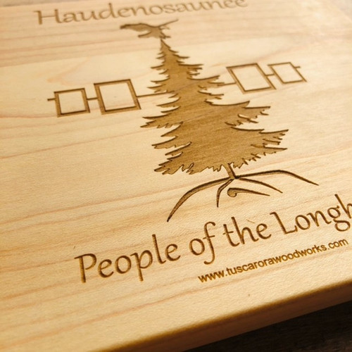 Haudenosaunee Maple Cutting Board