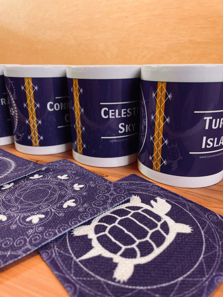 8-Piece Mug and Coaster Set