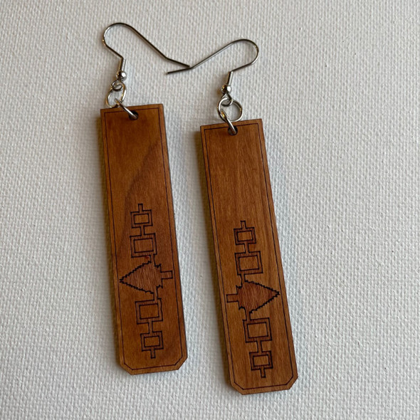 Cherry Hiawatha Belt Earrings