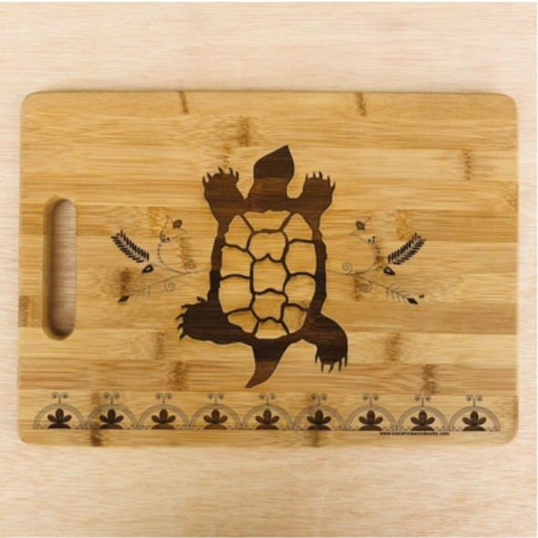 Medium Turtle Bamboo Cuttingboard