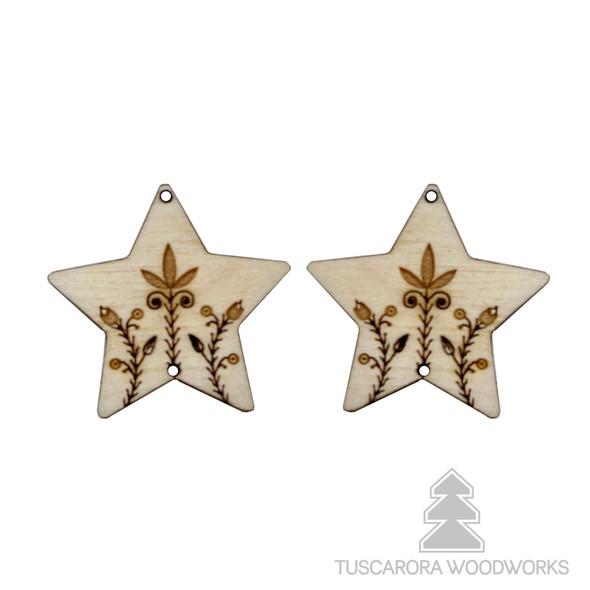 Star Celestial Wooden Centers