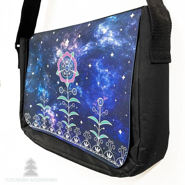 Celestial SkyWorld Laptop Messenger Bag