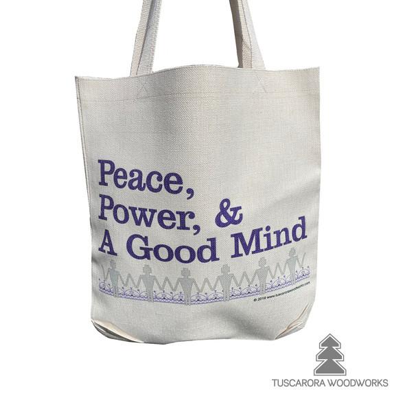 Peacemaker's Teachings Linen Tote