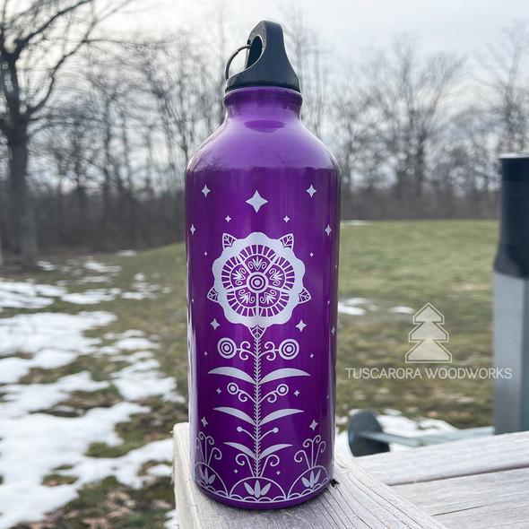 Celestial Tree Aluminum Water Bottle 16 oz.