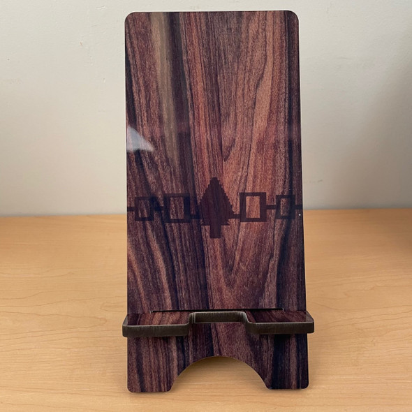 Wooden Hiawatha Belt Phone Stand