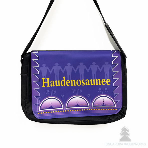 Haudenosaunee Laptop Messenger Bag