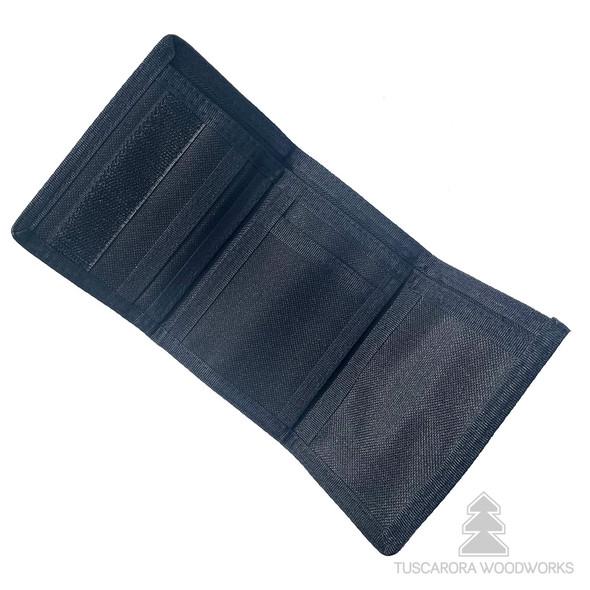 Peace Trifold Nylon Wallet