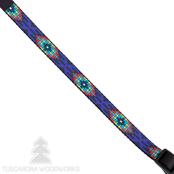 Purple Fire Dog Collar