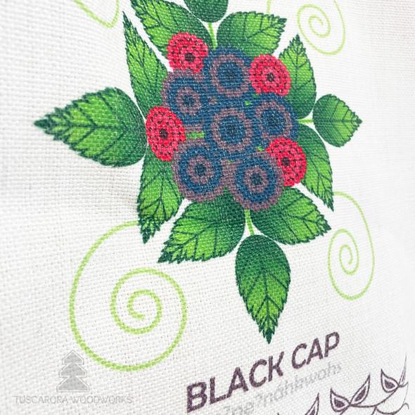 Black Cap Linen Tote