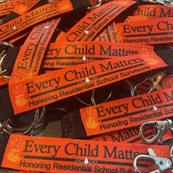Every Child Matters Key Chain