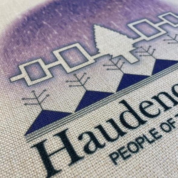 Haudenosaunee - People of the Longhouse Linen Apron