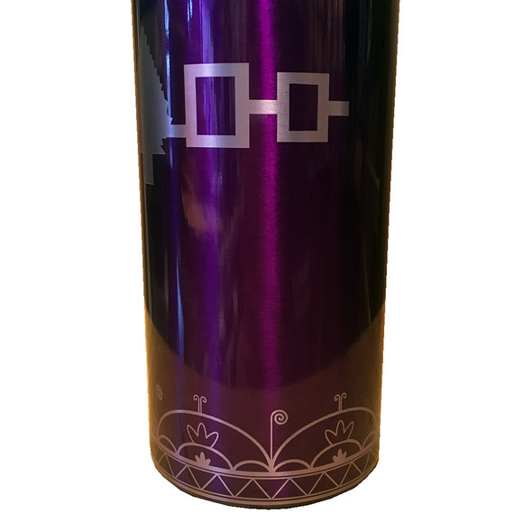 Hiawatha Belt 16oz Purple Insulated Tumbler