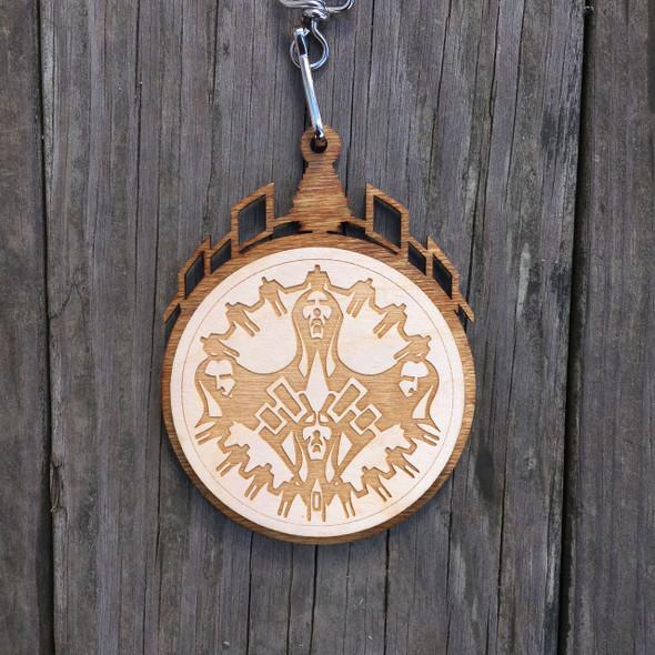 Wooden Award Medallion