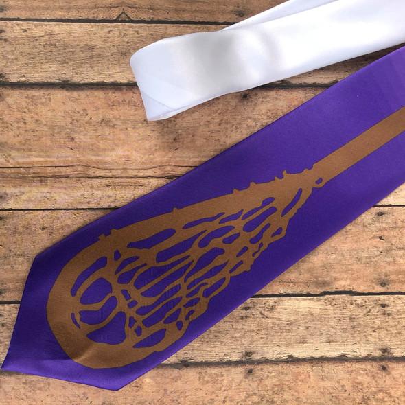 Lacrosse Stick Neck Tie