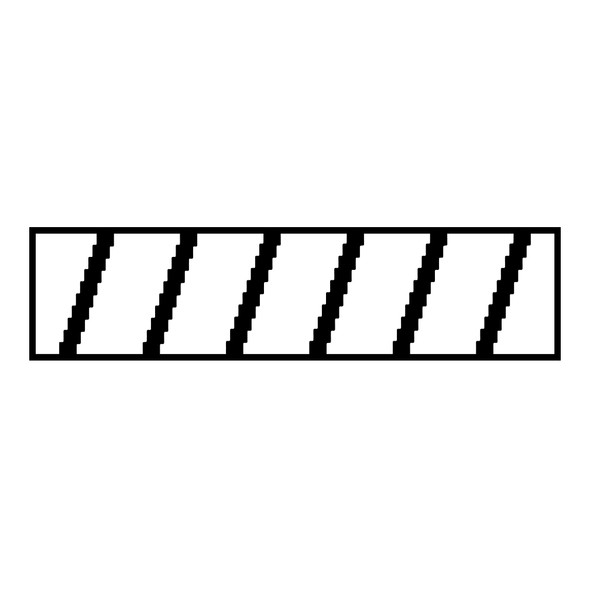 """10"""" Vinyl Extended Rafters Decal"""