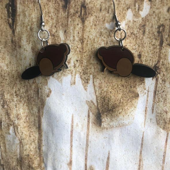 Chubby Beaver Earrings