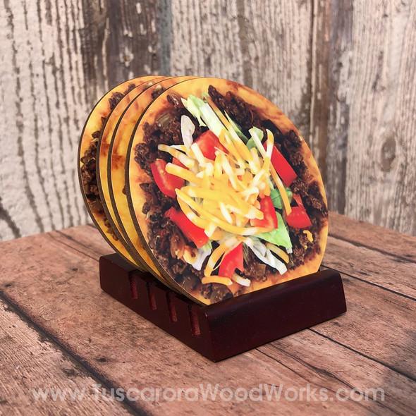 NDN Taco Coaster Set