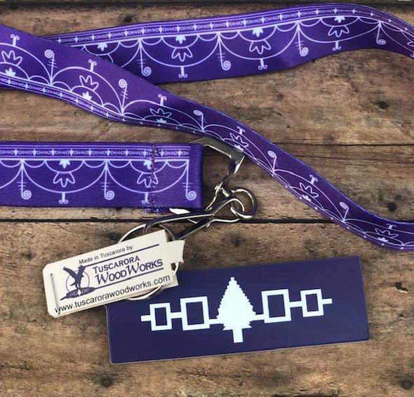 Hiawatha Belt Key Chain with Skydome Lanyard