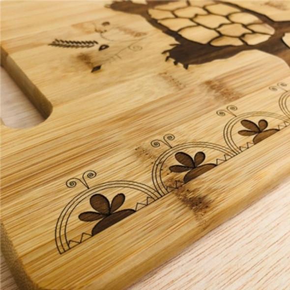 Large Turtle Bamboo Cuttingboard