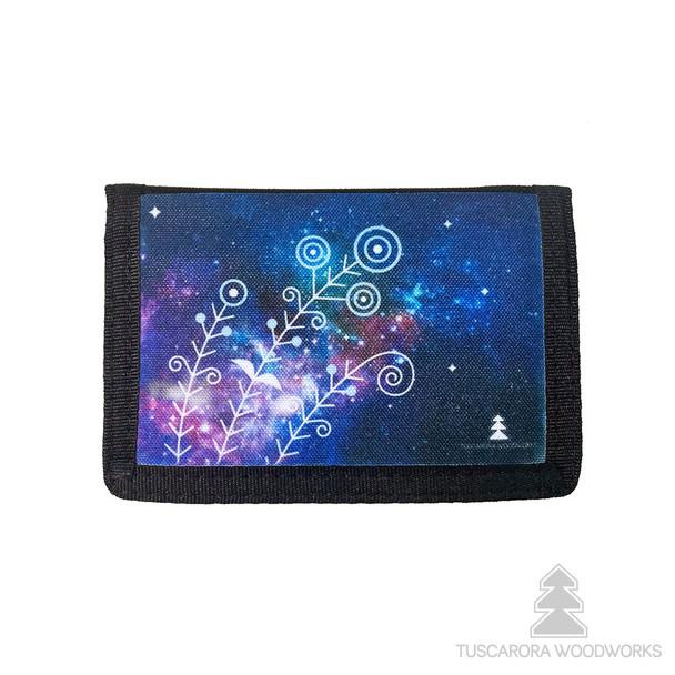 Celestial Trifold Nylon Wallet