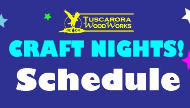 Craft Night Schedule