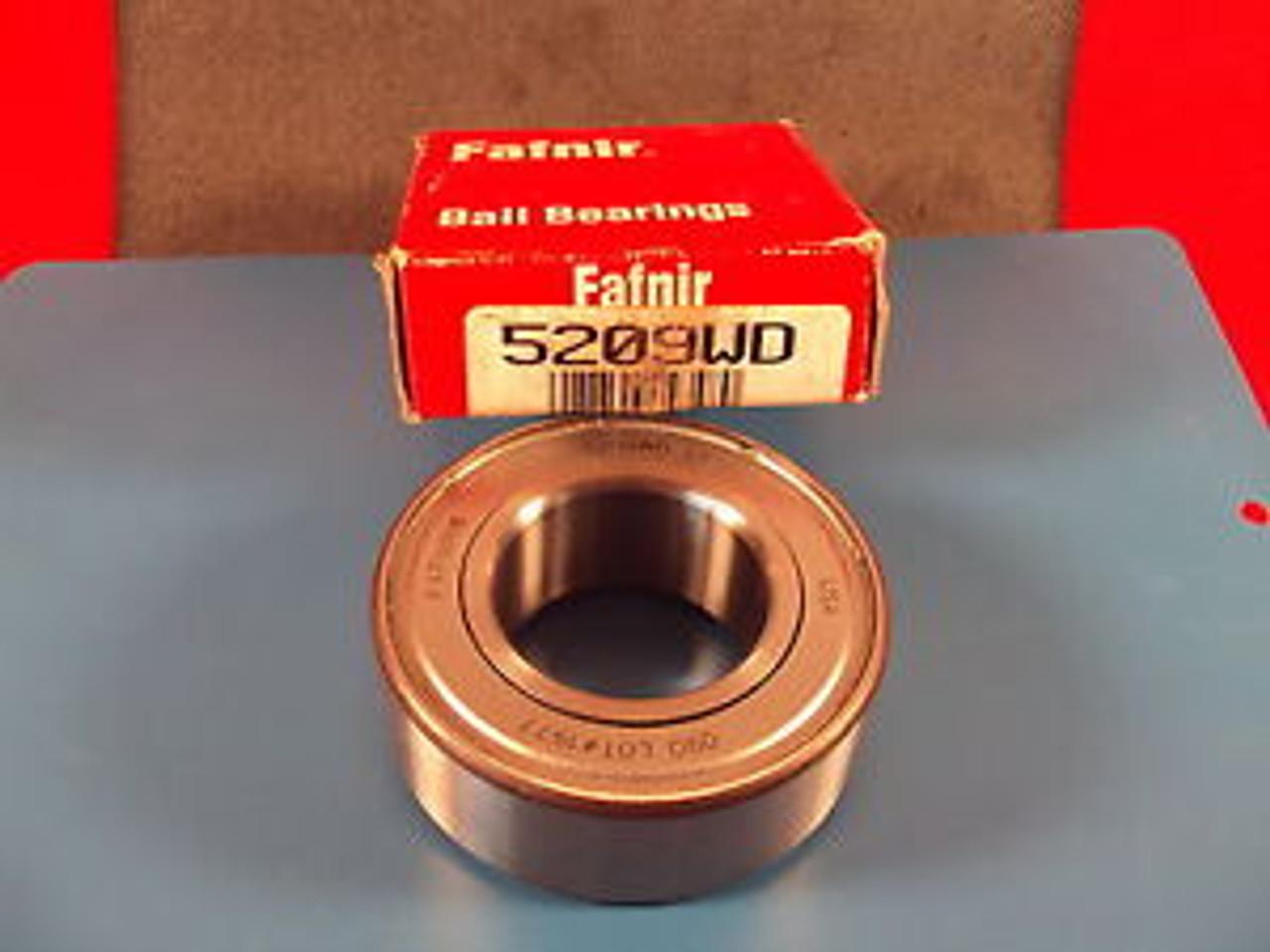 Fafnir 5209 WD, 5209WD, Double Row Ball Bearing,