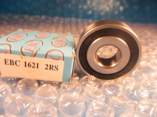 EBC 1621 2RS, 1621 Precision Ground Radial Bearing