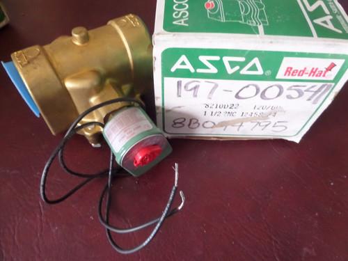 Asco, RedHat, 8210-D22, 8210-D22-120, Valve