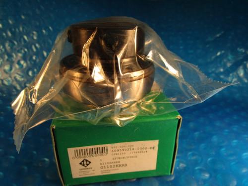 """INA G1102-KRRB, Ball Bearing Insert,1 1/8"""" ID x 62 mm OD (=2 TIMKEN, FAFNIR)"""