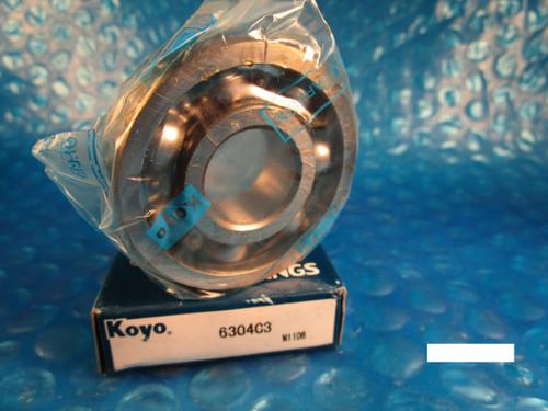 KOYO 6304 C3 (=2 Timken 304K, SKF, NSK, FAG, NTN)
