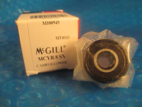 McGill MCYR8 SX, MCYR8 SX, MCYR 8 SX, 8mm Metric Cam Yoke Roller