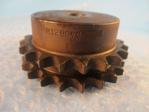 "Martin D40B21H 5/8, D40B21 H ,40 Chain, 21 Tooth, 5/8"" Finished Bore Sprocket"