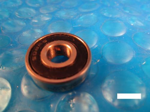 KOYO 608 2RS Single Row Radial Bearing (see MRC 38ZZ, SKF, NTN, FAG 2RSR,NSK VV)