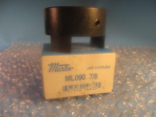 """Martin ML 090 7/8, ML090, Jaw Type Coupling Hub 7/8"""" ID"""