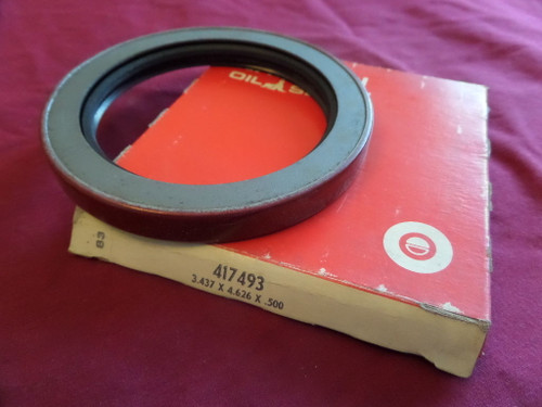National, 417493, Oil Seal