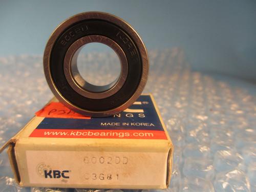 KBC Korean 6002DD, 6002 DD, Ball Bearing,(see SKF 6002 2RS)
