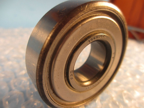 Fag 304 2Z,304A 2Z, 304 A 2Z, 304AZZ, Single Row Radial Bearing