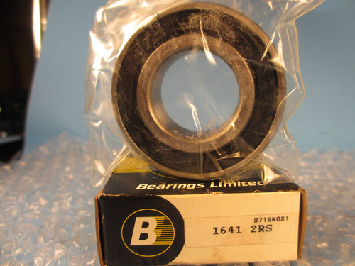 Bearing Limited 1641 2RS, Single Row Radial Bearing (=2 SKF, Nice 1641 DCTN)