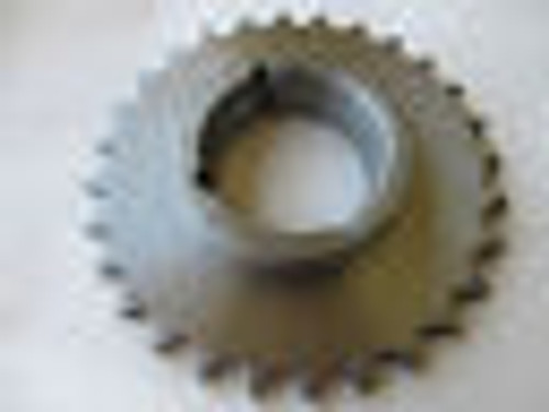 "60-28, 6028, 7"" Stainless Steel Sprocket,(=2 Martin 60B28 SS)60 Single 28 Teeth"